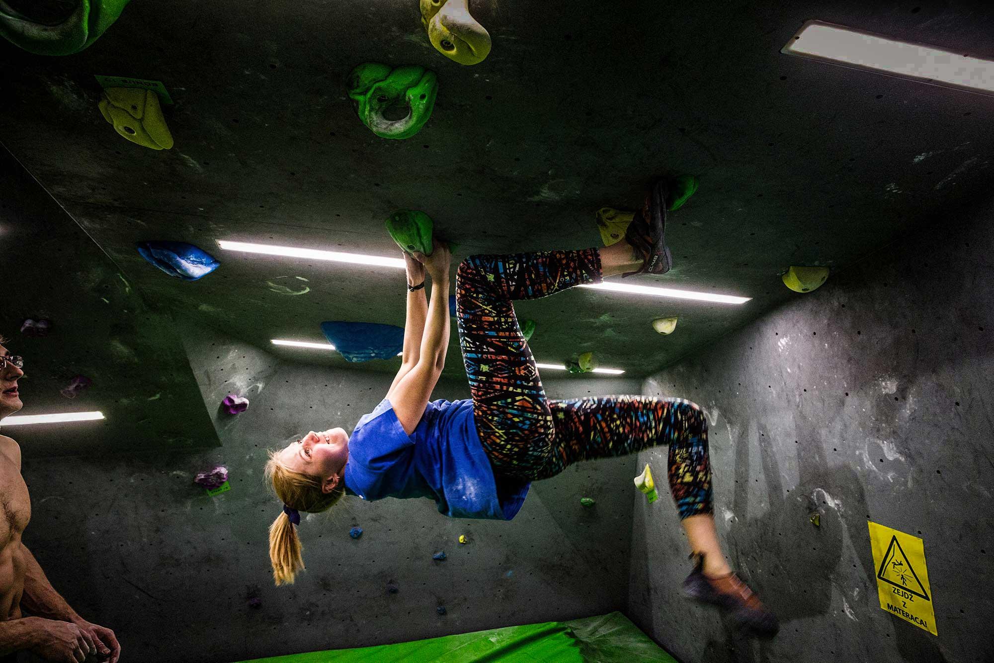 Sciana Wspinaczkowa Bouldering Poznan Climbingspot Pl